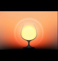 Drink the sun vector