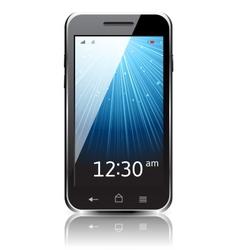 Realistic smartphone icon vector