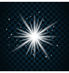 Shine star sparkle icon 1 vector