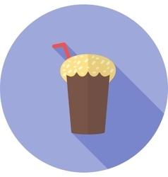 Chocolate shake vector