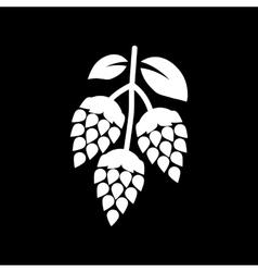 Hops icon beer and hop hops symbol ui web vector