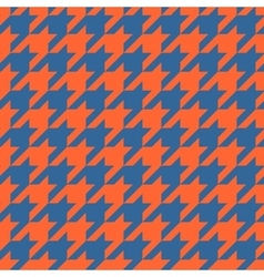 Houndstooth tile pattern or tweed wallpaper vector