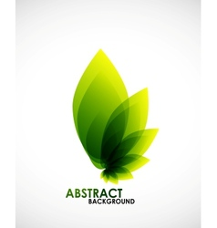 Natural business shape vector
