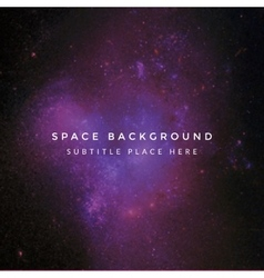 Colorful deep space background vector