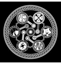 Fate wheel vector