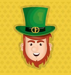 Leprechaun saint patrick day character vector