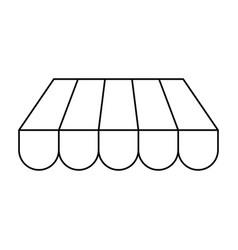 shop store symbol vector image vector image