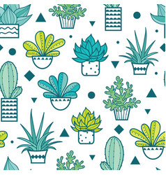 blue green seamless repeat pattern with vector image