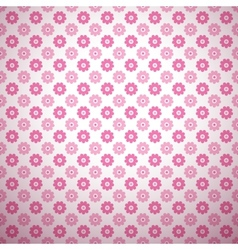 Cute abstract floral bright pattern tiling vector