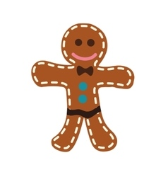 Cookie doll icon bakery design graphic vector