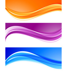 abstract bright colorful backgrounds collection vector image vector image