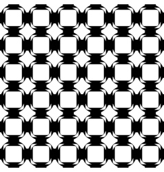 Design seamless monochrome tetragon pattern vector image