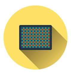 Icon of photo camera sensor vector