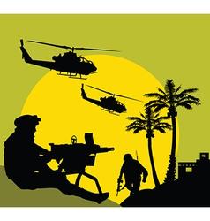 Midnight patrol vector image