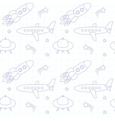 Fly background on paper vector image vector image