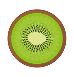 Kiwi fresh fruit icon vector