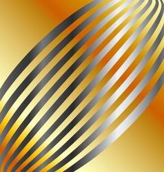 Metallic wave background vector