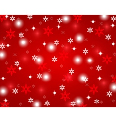 Christmas red shiny abstract background vector