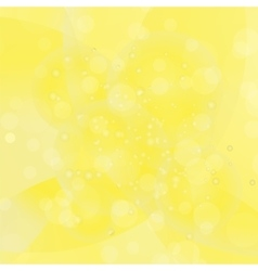 Circle yellow light background vector