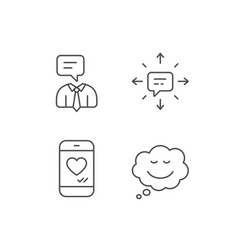 Message comic speech bubble and communication vector