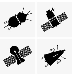 Satellites vector image