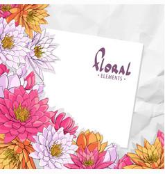 Lotus floral vector