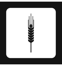 Spikelet of wheat icon simple style vector image vector image