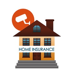 Home insurance design vector