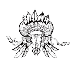 Tribal design graphic vector