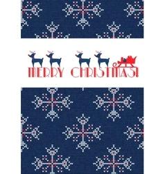 Christmas sweater 27 vector
