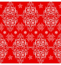 seamless pattern lace vector image