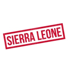 Sierra leone rubber stamp vector