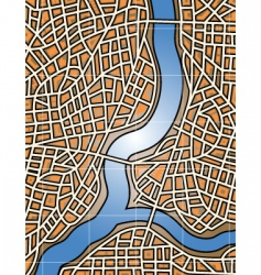 City river vector