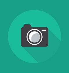 Technology flat icon camera vector