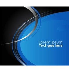 Blue paper background overlap dimension ill vector image vector image