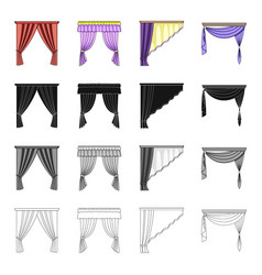 Design frills textiles and other web icon in vector