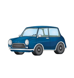 Toy mini car vector