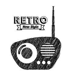 Retro device vector