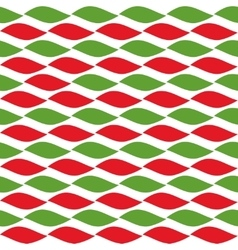 Simple retro geometric christmas pattern vector