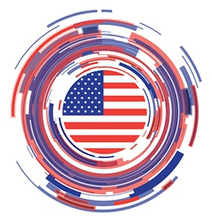 Usa icon vector