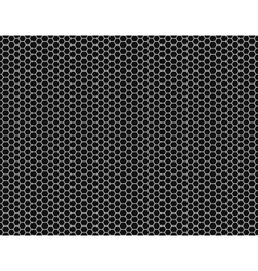 Grille hexagonal cell texture vector