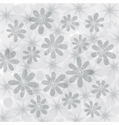 Floral background flowers pattern vector