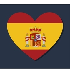 Spain culture and landmark design vector image vector image