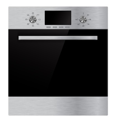 Electric oven vector image
