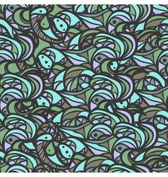 Wavy pattern vector image