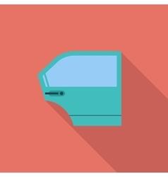 Car door vector image