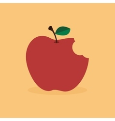 Abstract delicious Apple vector image