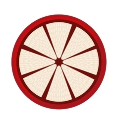Guava fresh fruit icon vector