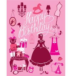 Happy birthday room 380 vector