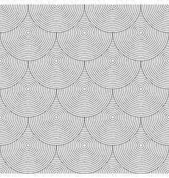 Seamless fish scale texture vector image vector image